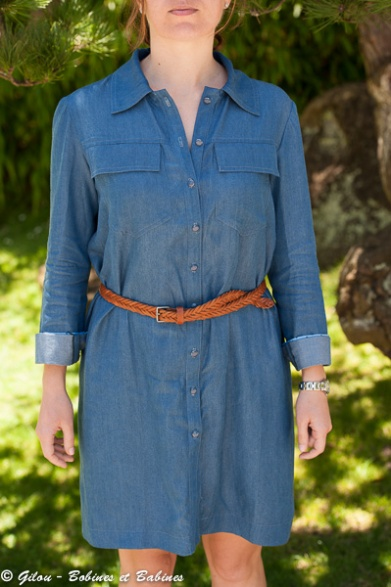 Shirt Dress -Burda